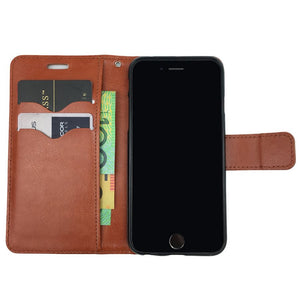 Leather Flip Case Magnetic Wallet Stand Cover For Apple iPhone 7 6S 6 Plus 5S 5