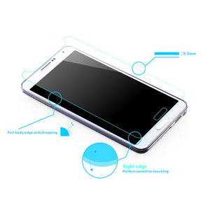 2 x GENUINE Tempered Glass Screen Protector Film for Samsung Galaxy ACE 3