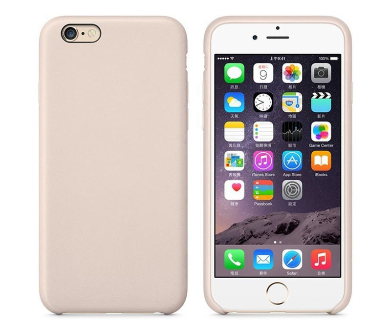 Premium Leather Case Thin PU Tough Back Cover for Apple iPhone 6 6s Plus 7 8 X
