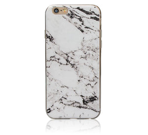 Marble Rock Pattern Gel Silicone Case Cover for Apple iPhone 5 SE 6S Plus 7 8 X