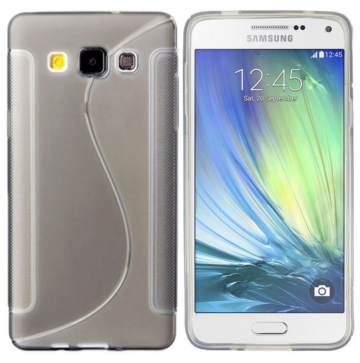 Gel S Curve Slim Soft Thin Cover TPU Silicone Case for Samsung Galaxy A3 A5 ACE