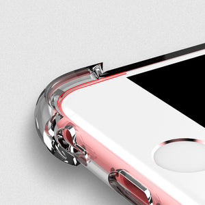 Shockproof Tough Gel Clear Case Cover for Apple iPhone X