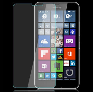 2 x Tempered Glass Screen Protector for Microsoft Nokia Lumia 640 & 640 XL LTE