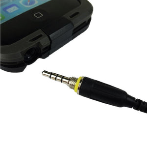Headphone Adapter AUX Waterproof Cable for LifeProof Case for Apple iPhone 5S 5