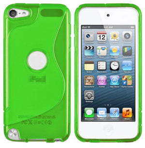 Gel Silicone S Curve Cover Case for Apple iPod Touch 6th 6 5th 5 Gen Generation
