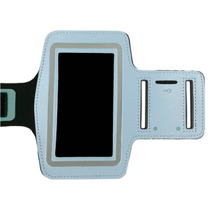 LIGHT BLUE Sports Gym Armband Arm Band Running for Samsung Galaxy S5 S4 S3 S2
