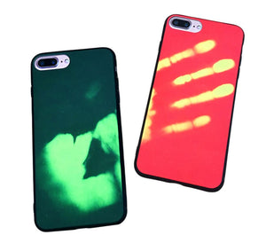Heat Change Gel Case Marble Tough Cover for Apple iPhone 5 5s 5c SE 6 6s 7 Plus
