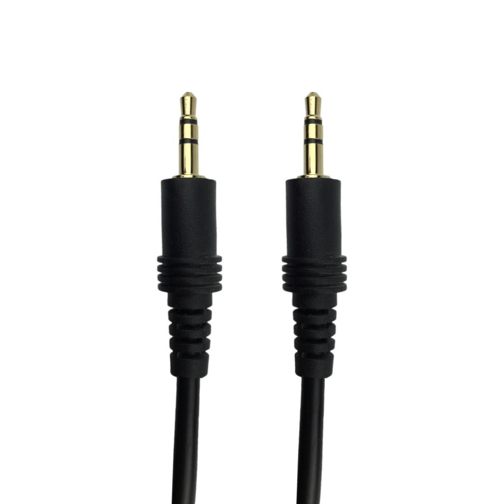Round Auxiliary 3.5mm to 3.5mm Stereo Cable - 5 Meters