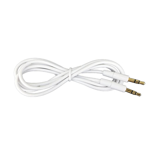 Round Auxiliary Stereo Audio Cable 3 5mm To 3 5mm
