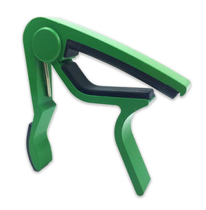 GREEN Aluminum Guitar Capo Spring Trigger Electric Acoustic Clamp Quick Release