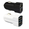 Fast 3.1A Dual Car Charger for Apple iPhone 7, 7 Plus, 6S, 6, 6S Plus, 6 Plus, SE, 5S, 5C, 5, 4S, 4 & iPad