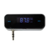 Wireless Car FM Transmitter Handsfree Radio For 3.5mm Headphone Port