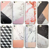 Marble Rock Pattern Thin Soft Gel Case for Apple iPhone 8 Plus