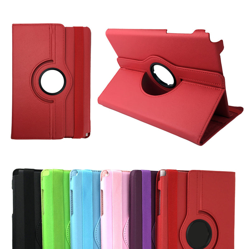 Rotation Leather Flip Stand Case Cover for Samsung Galaxy Tab S2 9.7