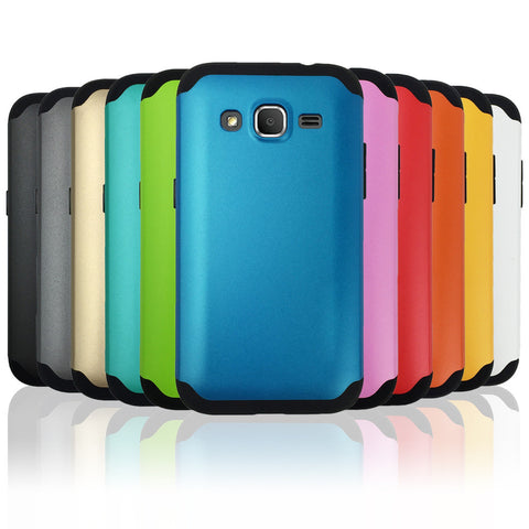Shockproof Heavy Duty Armor Case for Samsung Galaxy Core Prime