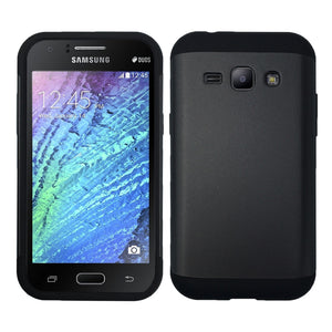 Shockproof Heavy Duty Tough Armor Case for Samsung Galaxy J1