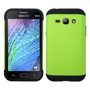Shockproof Heavy Duty Tough Armor Case for Samsung Galaxy J1 Mini