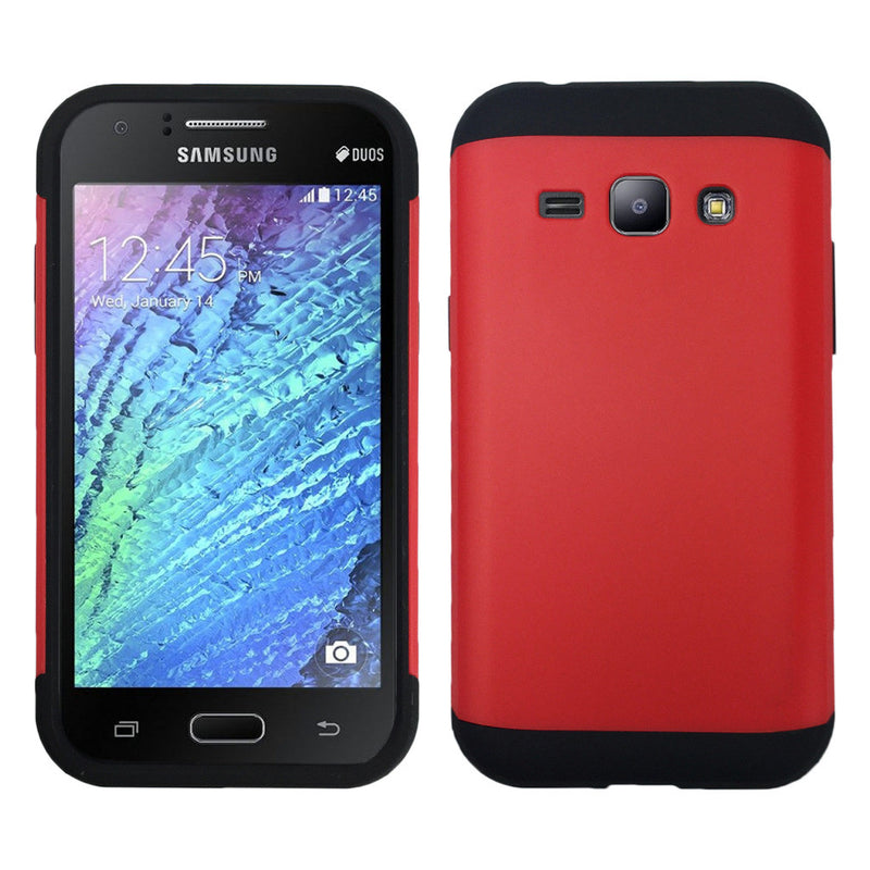 Shockproof Heavy Duty Armor Case for Samsung Galaxy J1