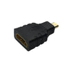 2 x Micro HDMI Type D Male to HDMI Female Plug Converter Cable Adapter
