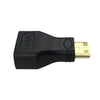Mini HDMI Male to HDMI Female Plug Adapter Converter Connector for HDTV Monitor