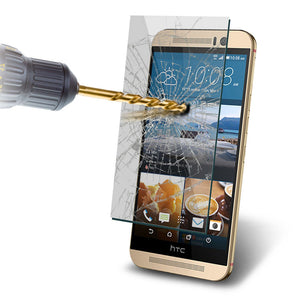 Tempered Glass Scratch Resistant Screen Protector for HTC One M8