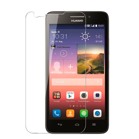 Tempered Glass Scratch Resistant Screen Protector for Huawei Ascend Y550