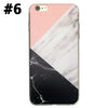 Marble Rock Pattern Thin Soft Gel Case for Apple iPhone 7