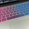 "Rainbow Silicone Keyboard Cover for Apple MacBook 13"" 15"" Air Pro"