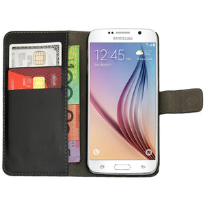 Leather Flip Wallet and Stand Case For Samsung Galaxy S3