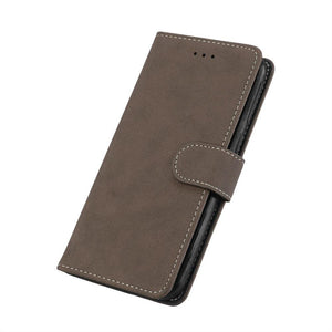 Leather Vintage Flip Case for Apple iPhone X