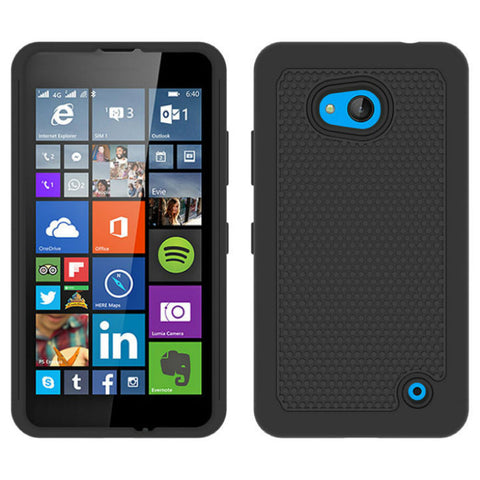 Shockproof Heavy Duty Case Slim Hybrid Armor Cover for Nokia Lumia 640