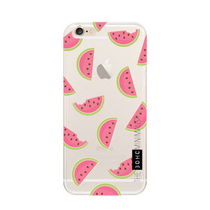 Pattern Fruit, Flower & Animal Clear Soft Gel Case for Apple iPhone 6 Plus & 6s Plus
