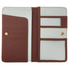 Large Passport Wallet RFID PU Leather