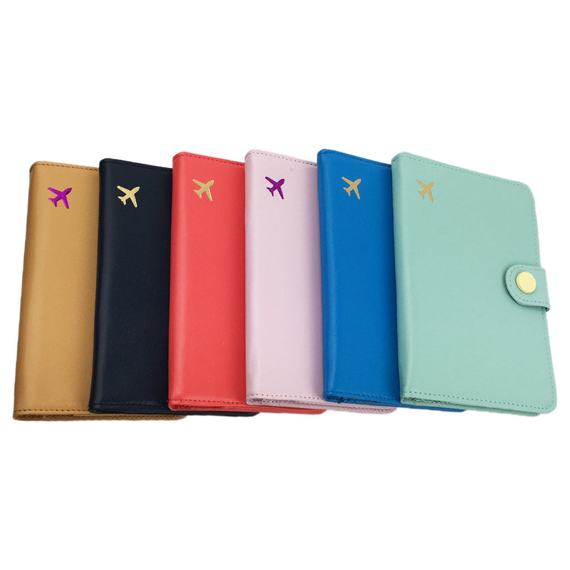 Passport Wallet RFID PU Leather