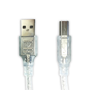 1.5m USB 2.0 Type A Male B Printer Cable for HP Canon Dell Brother Epson Xerox