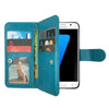 Leather Wallet Case Magnetic Flip Gel Cover for Samsung Galaxy S6