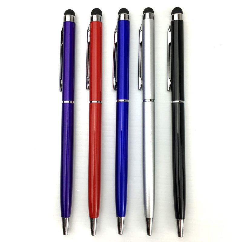 5 x Capacitive Touch Screen Stylus & Ball Point Ink Pen