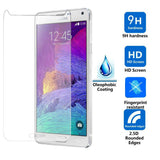 Tempered Glass Scratch Resistant Screen Protector for Samsung Galaxy Note 4