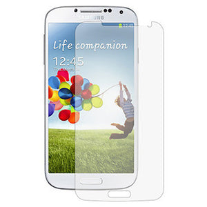 Tempered Glass Scratch Resistant Screen Protector for Samsung Galaxy S4