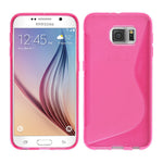 S-Curve Clear Soft Gel Case for Samsung Galaxy S6 Edge