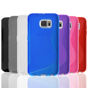 Soft Gel Case S-Curve Clear Tough Cover for Samsung Galaxy S8 Plus
