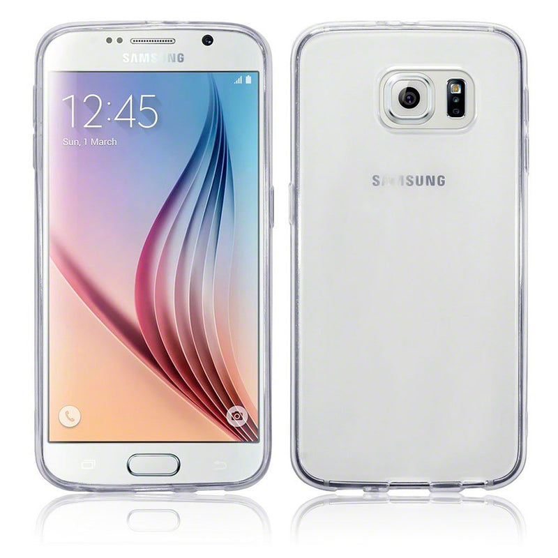 Crystal Clear Soft Gel Case for Samsung S6 Edge