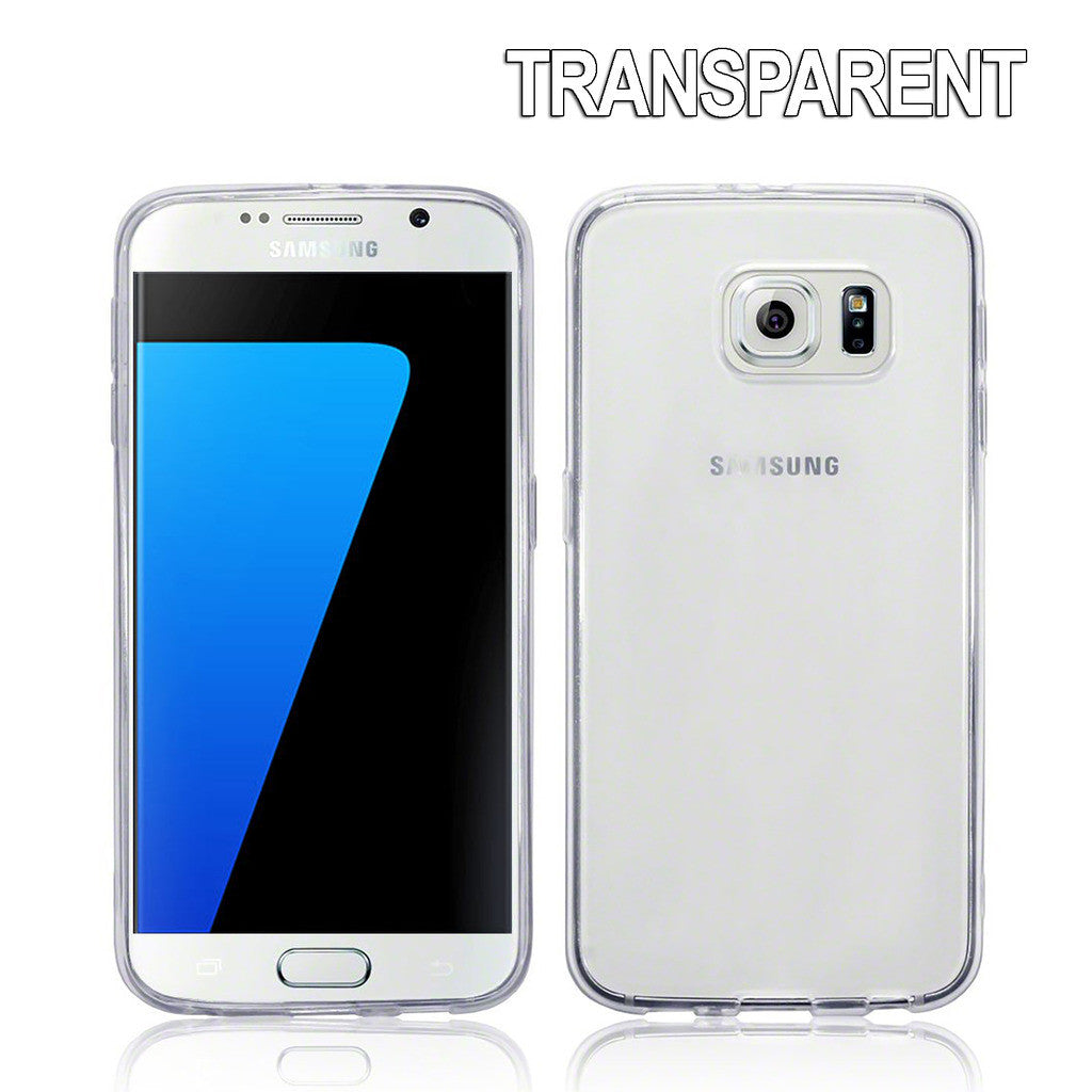 Crystal Clear Soft Gel Case for Samsung Galaxy S7 Edge