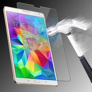 Tempered Glass Scratch Resistant Screen Protector for Samsung Galaxy Tab S 8.4""