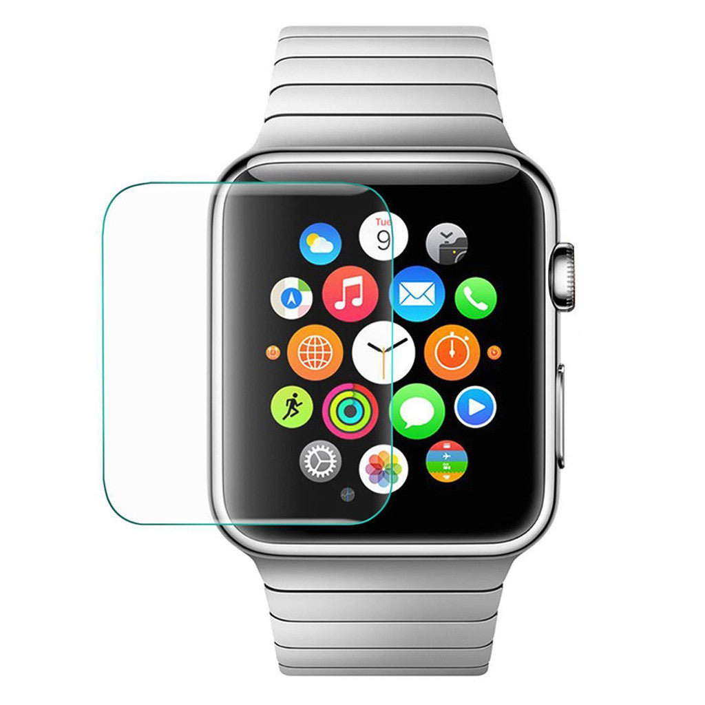Tempered Glass Scratch Resistant Screen Protector for Apple Watch 38mm