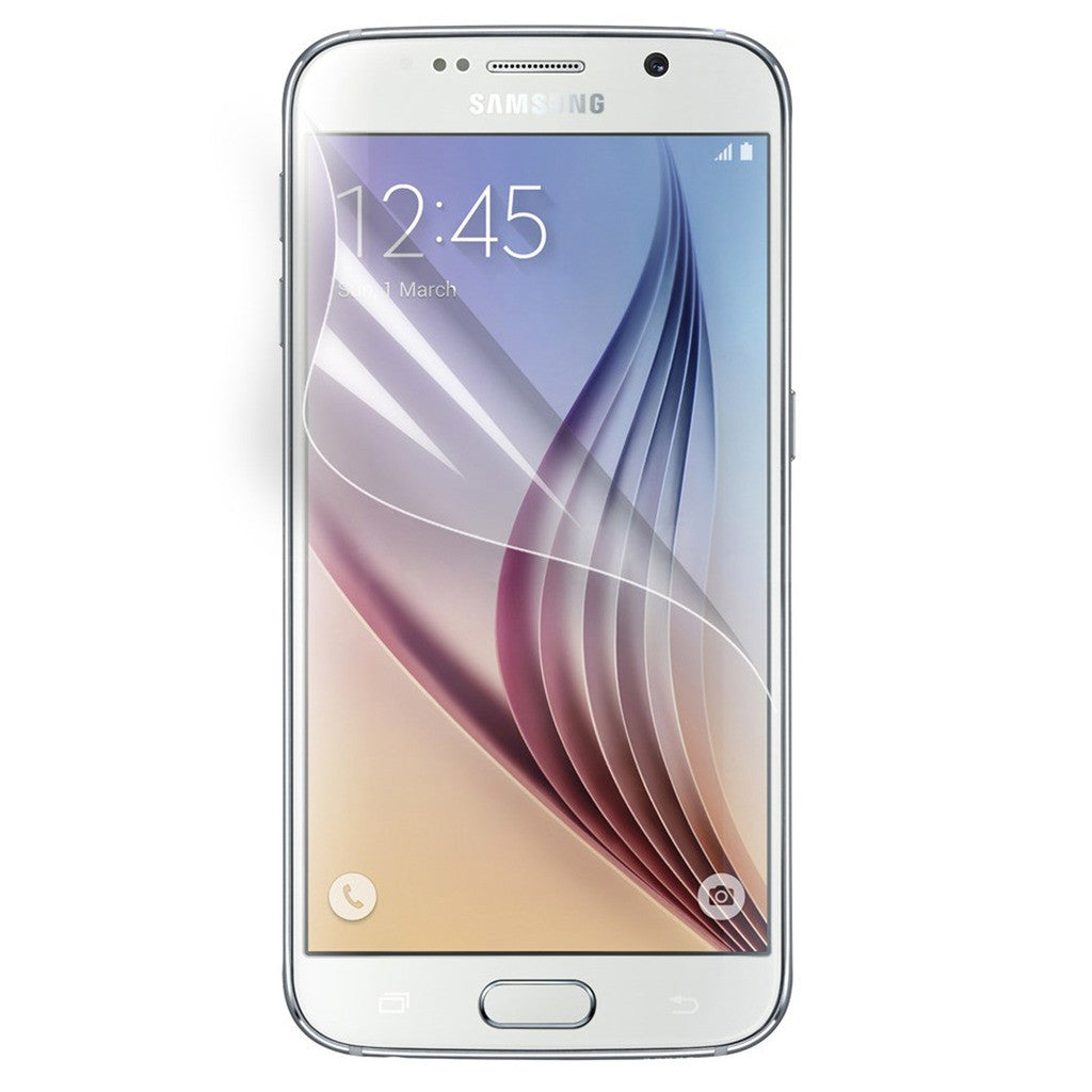 Crystal Clear Soft Gel Case for Samsung S6