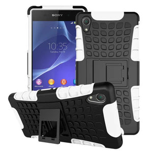 Shockproof Tough Heavy Duty Stand Case for SONY Xperia Z3 Compact