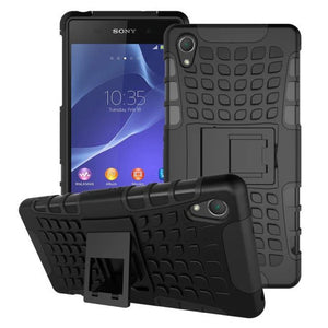Shockproof Tough Heavy Duty Stand Case for SONY Xperia Z3