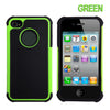 Shockproof Heavy Duty Tough Gel Case for Apple iPhone 4S / 4