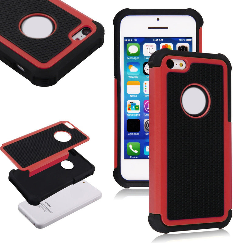 Shockproof Heavy Duty Case for Apple iPhone 5S / 5